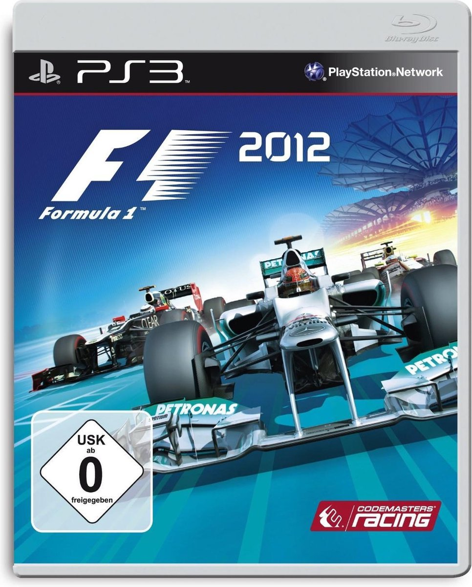 Codemasters F1 2012, PS3 video-game PlayStation 3 Duits - Codemasters