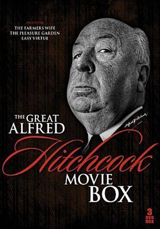 Cover van de film 'The Great Alfred Hitchcock Movie Box'