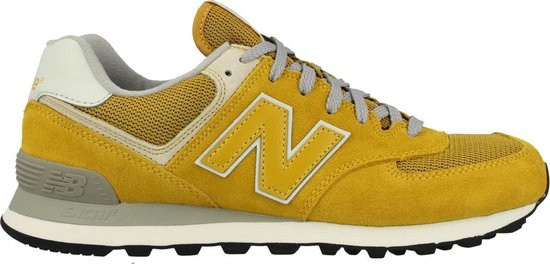 bol.com | New Balance ML574 - Sneakers - Unisex - Maat 44 - Geel