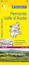 Piemonte & VA - Michelin Local Map 351