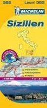 Michelin Lokalkarte Sizilien 1 : 220 000