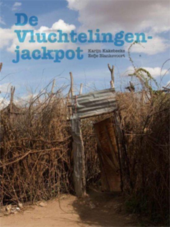 Cover van het boek 'De vluchtelingenjackpot'