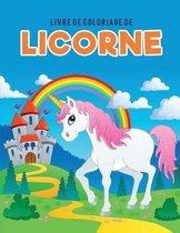 Livre de coloriage de licorne