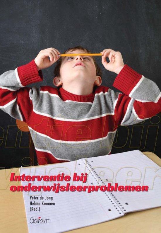 Interventie bij onderwijsleerproblemen - none | Fthsonline.com