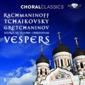 Rachmaninoff & Tchaikovsky & Gretchaninov: Vespers
