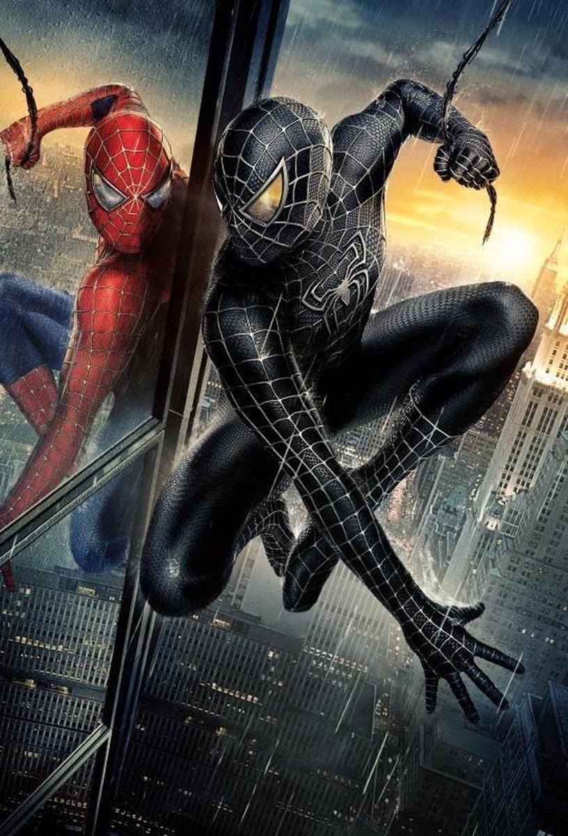 Poster Spiderman Black -