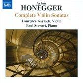 Honegger: Compl. Violin Sonatas