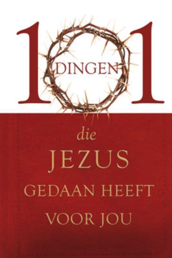 Cover van het boek '101 dingen die Jezus gedaan heeft voor jou' van J. Inman