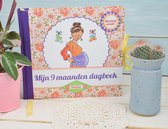 Afbeelding van Zwangerschapsdagboek Mijn 9 maanden dagboek - Pauline Oud - Hard cover