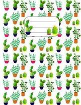Cactus Plants - Composition Book