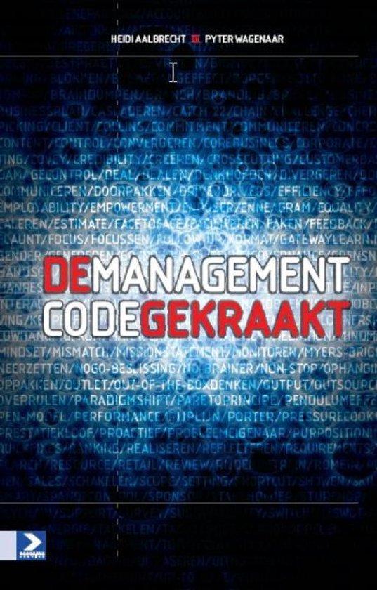 Cover van het boek 'De managementcode gekraakt' van H. Aalbrecht