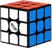 Qiyi - The New Thunderclap - 3x3x3 Speedcube - Zwarte kubus