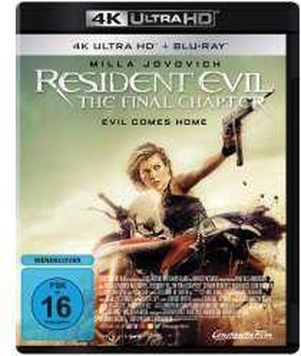 Resident Evil: The Final Chapter (Ultra HD Blu-ray & Blu-ray)-