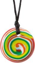Chewigem kauwsieraad Button
