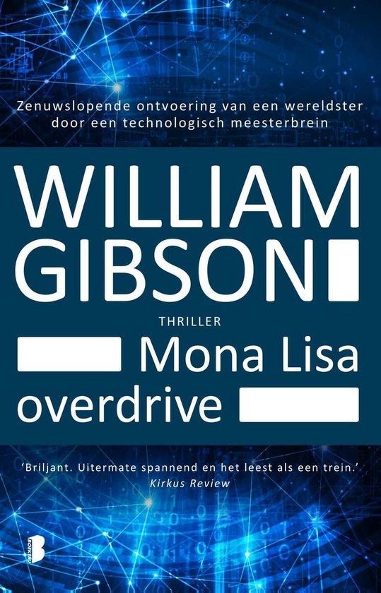 Cover van het boek 'Mona Lisa Overdrive'