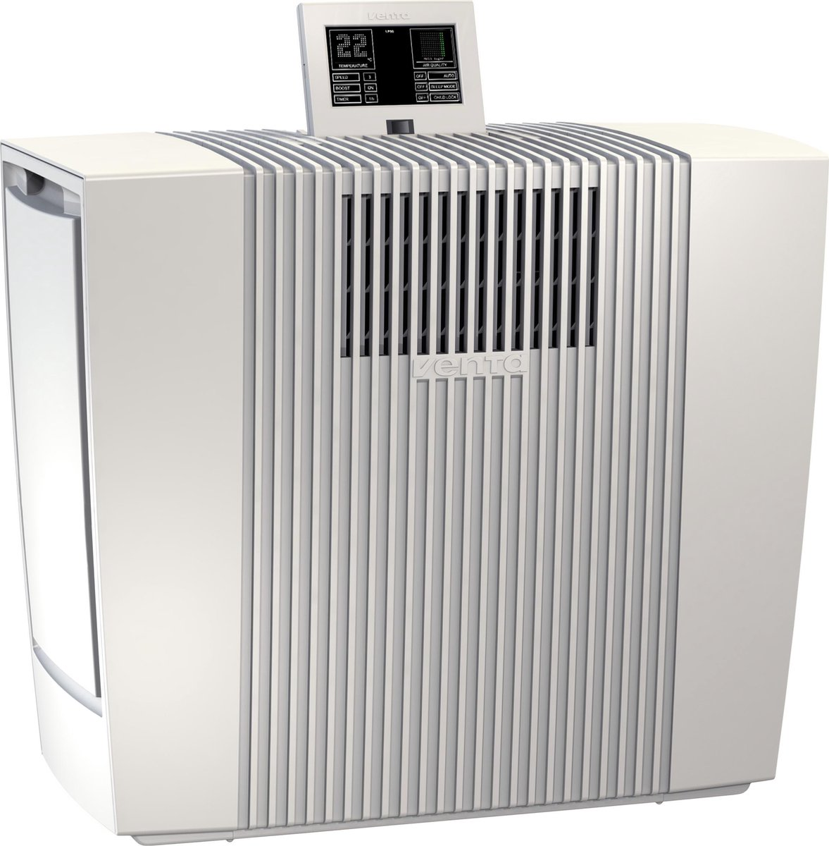 Venta LP60 luchtreiniger 75m² met Venta Neliorfilter 0,07u, Wit.