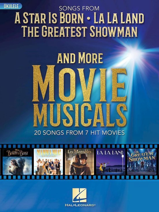 Afbeelding van Songs from A Star Is Born, The Greatest Showman, La La Land, and More Movie Musicals
