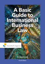 Boek cover A basic guide to international business law van Harm Wevers (Paperback)
