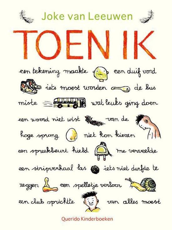 Boek cover Toen ik van Joke van Leeuwen (Hardcover)