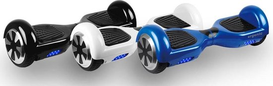 Ergenic HB4400 Hoverboard - 6,5inch - 4400mAh -  wit - Ergenic