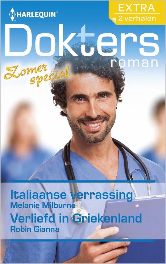 Doktersroman Extra 98 - Italiaanse verrassing ; Verliefd in Griekenland (2-in-1) - Melanie Milburne |
