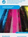 Mantenimiento, seguridad y tratamiento de los residuos en la impresion digital