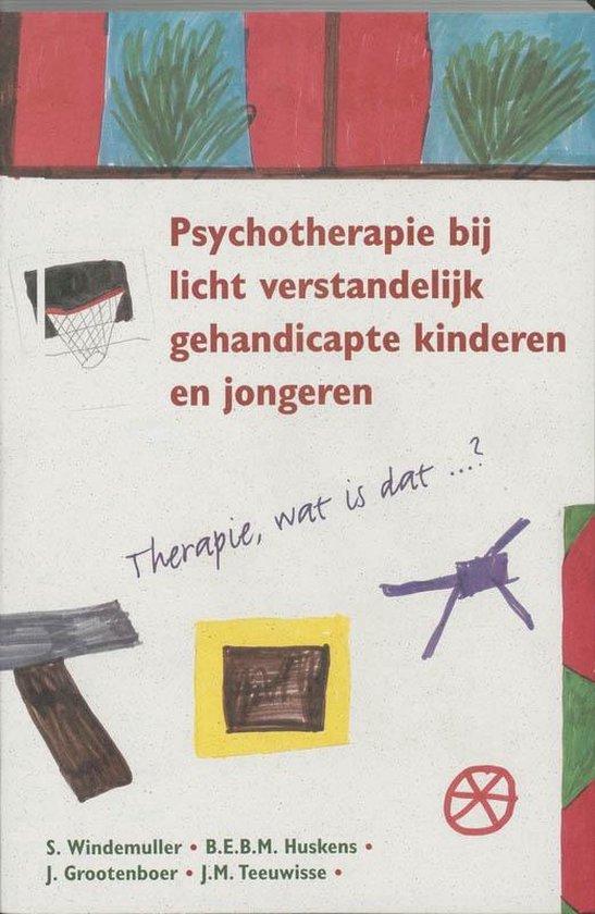 Psychotherapie bij licht verstandelijk gehandicapte kinderen en jongeren - Onbekend |