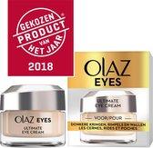 Olaz Eyes Ultimate Voor Donkere Kringen, Rimpels, Wallen - 15 ml - Oogcrème