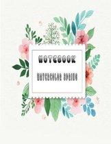 Notebook Watercolor Spring