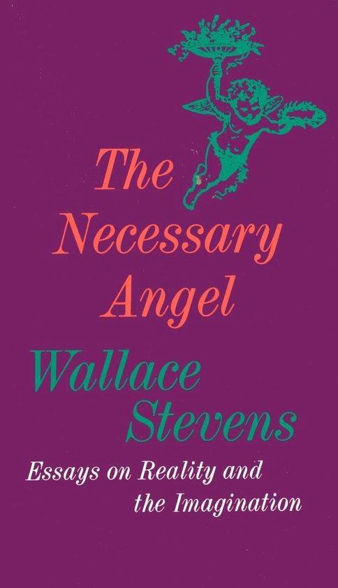 Boek cover The Necessary Angel van Wallace Stevens (Onbekend)