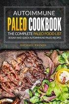 Autoimmune Paleo Cookbook - The Complete Paleo Food List