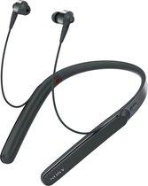 Sony WI-1000X - Draadloze oordopjes met nekband en Noise Cancelling - Zwart