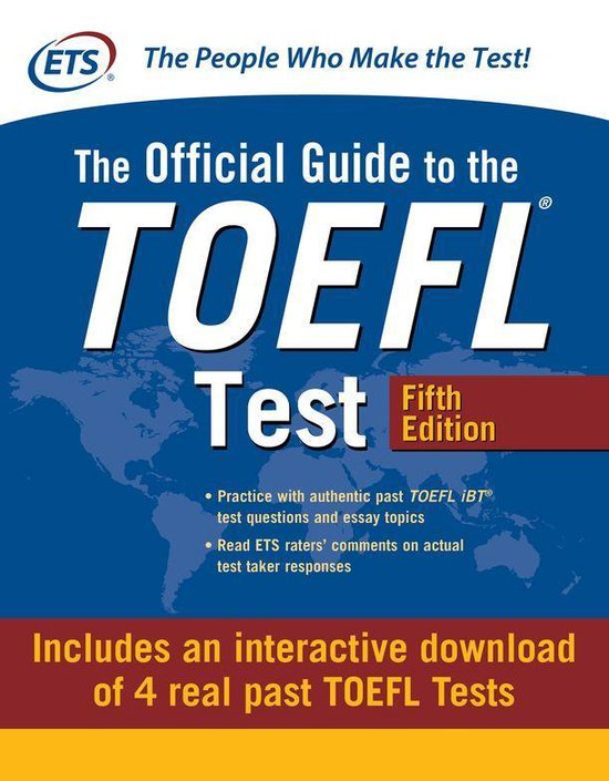 Boek cover The Official Guide to the TOEFL Test van Educational Testing Service (Onbekend)