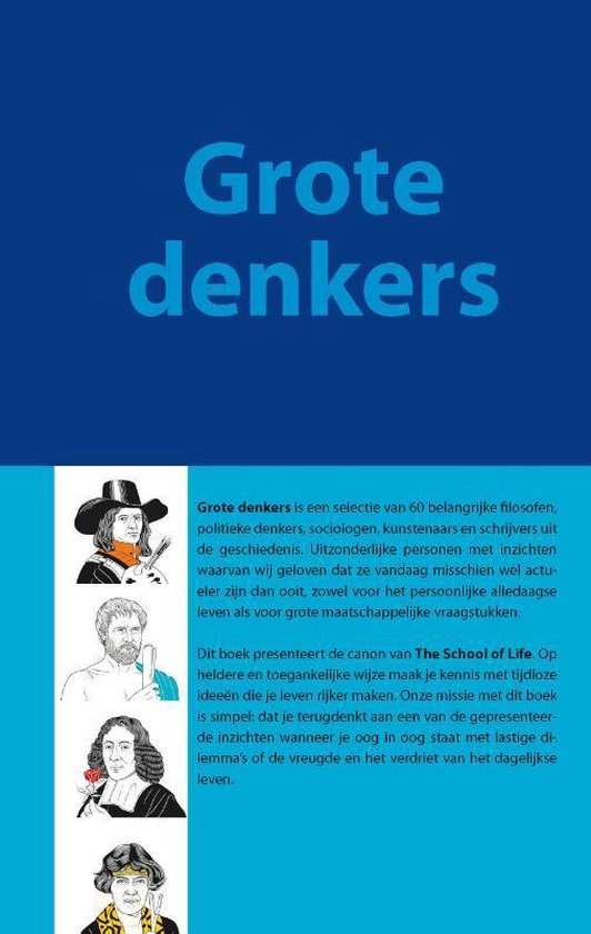 The School of Life - Grote denkers