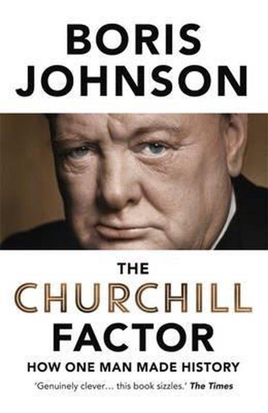 Boek cover The Churchill Factor van Boris Johnson (Hardcover)
