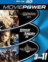 Moviepower Box 2: Actie (3D Blu-ray)