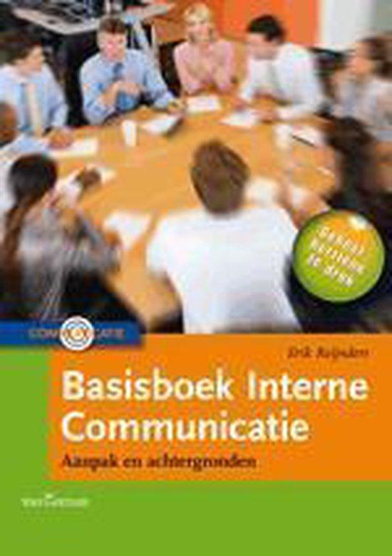 Basisboek interne communicatie - Erik Reijnders pdf epub