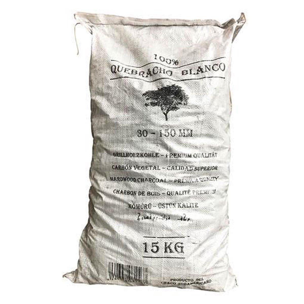 Quokware Houtskool White QueBracho, 15kg