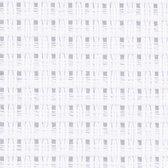 Aida stof, afm 50x50 cm, wit, 1 stuk