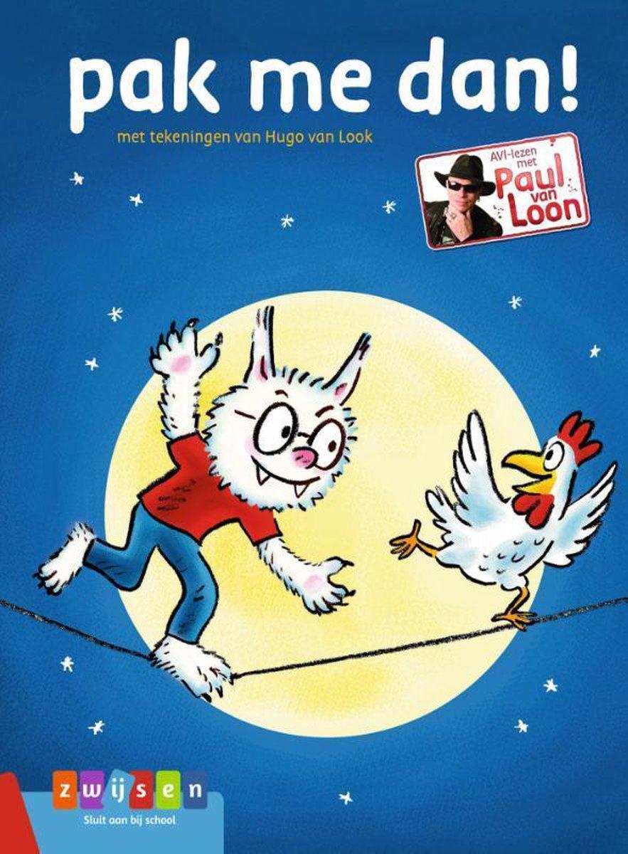 AVI-lezen met Paul van Loon  -   Pak me dan!