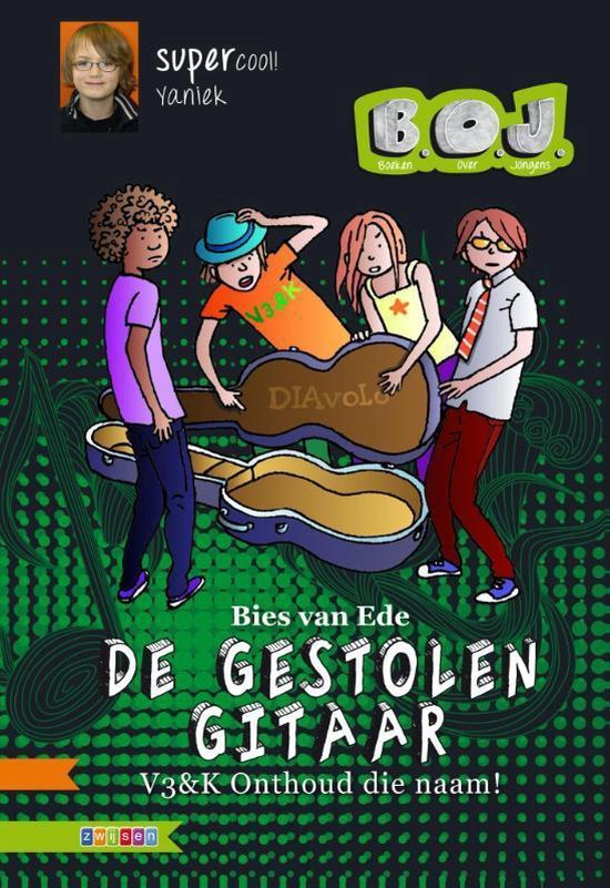 B.O.J. - De gestolen gitaar - Bies van Ede pdf epub