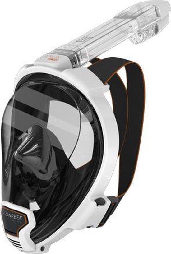 Ocean Reef Aria QR+ Snorkelmasker - Wit - M/L