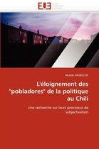 L''�loignement Des pobladores de la Politique Au Chili