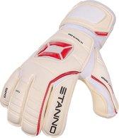 Stanno Keepershandschoenen - Maat 10  - Unisex - wit/rood