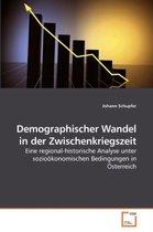 Demographischer Wandel in Der Zwischenkriegszeit