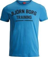 Bjorn Borg  - Sportshirt - Heren - Hawaiian Ocean - Maat M