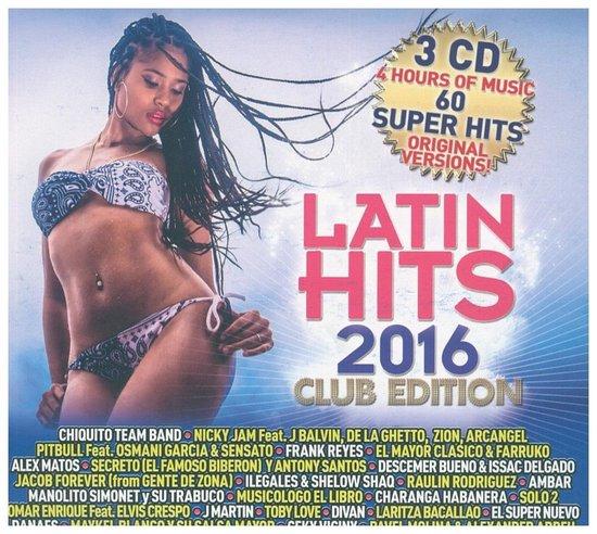 Various - Latin Hits 2016 (Club Edition)