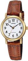 Lorus RRS18VX9 horloge dames - bruin - edelstaal doubl�