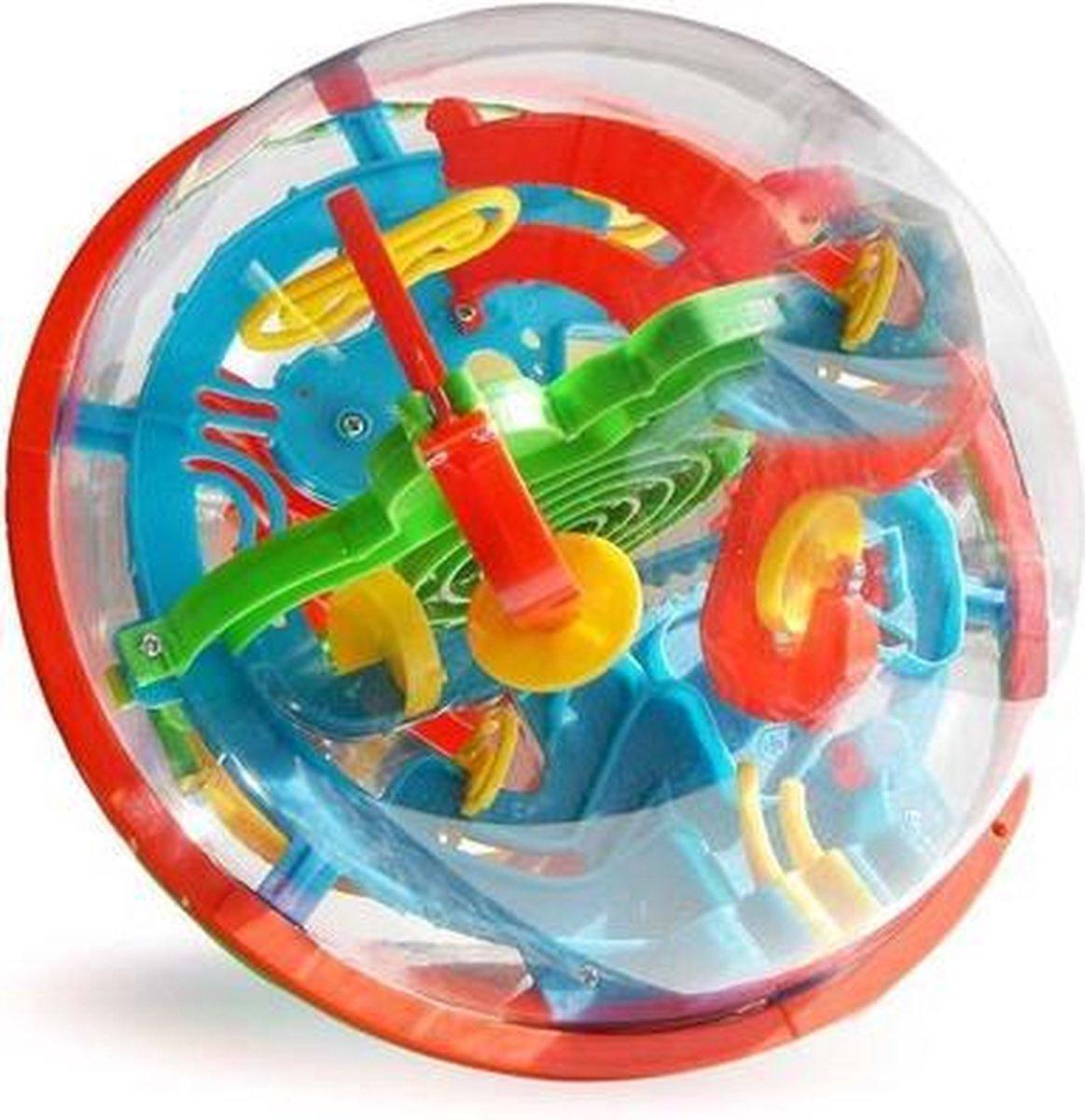 MikaMax Maze Ball XL - Speelgoedbal - Doolhof Speel Bal XL - Puzzelbal