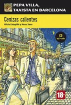 Pepa Villa: Cenizas calientes (B1) libro + CD audio